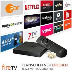 Amazon Fire TV 4k Ultra-HD Streaming Box