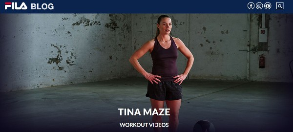 kostenloses Workout Video Tina Maze