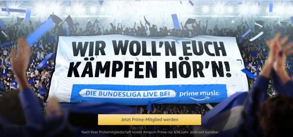amazon Prime Bundesliga Live stream