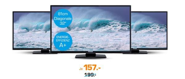 Telefunken D32H287Q4 HD-Fernseher Triple Tuner 32 Zoll