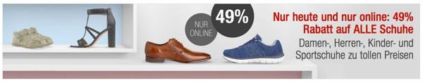 Galeria Kaufhof Schuhe günstiger kaufen
