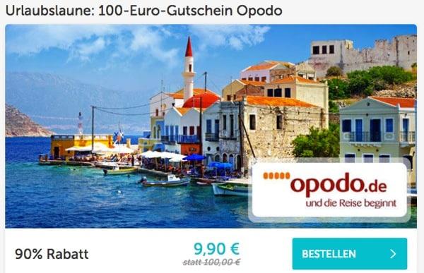 Opodo 100 Euro Gutschein