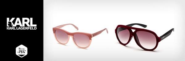 Karl Lagerfeld Sonnenbrille günstiger kaufen