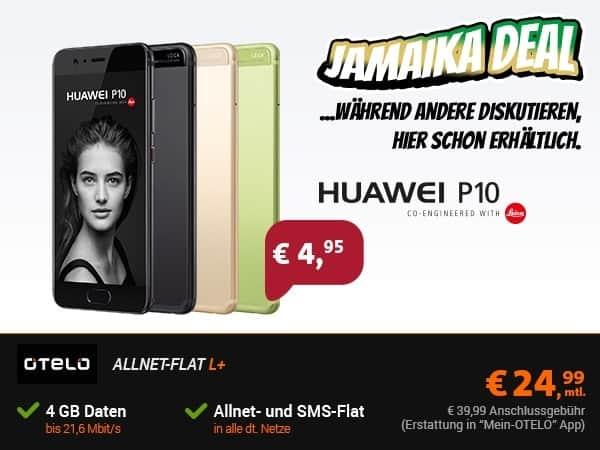 Huawei P10 mit Handyvertrag