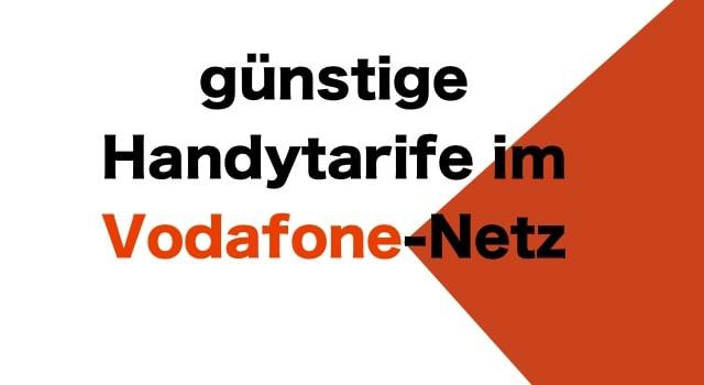 günstige Handytarife Vodafone LTE