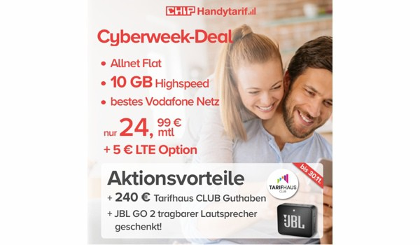 Vodafone 10 GB Allen Flat