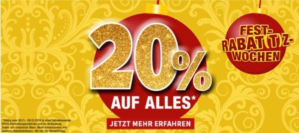 POCO Gutschein 20% Rabatt