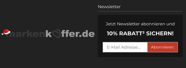 markenkoffer.de Newsletter Gutschein