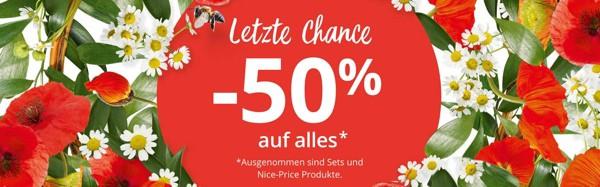 Yves Rocher 50% Rabatt