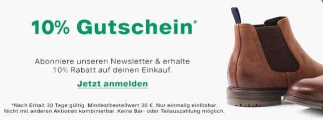 Deichmann Gutschein 5 Euro