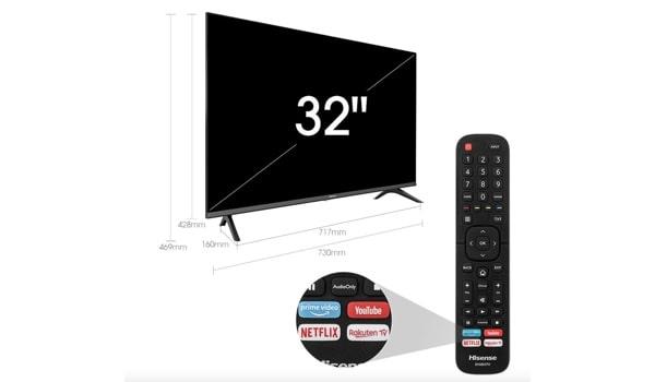 Hisense A5600F Smart-Fernseher unter 200 Euro
