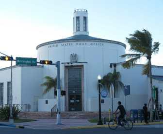 Art-déco-Architektur in Miami Beach