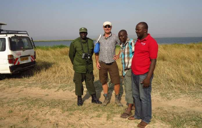 Safari im Murchison Falls National Park in Uganda