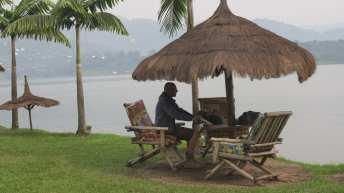 Hotel in Rubona am Lake Kivu in Ruanda