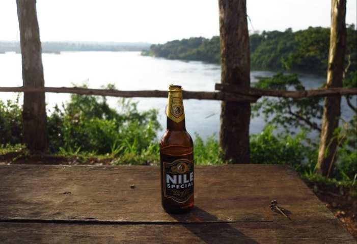 Weißer Nil in Jinjia in Uganda