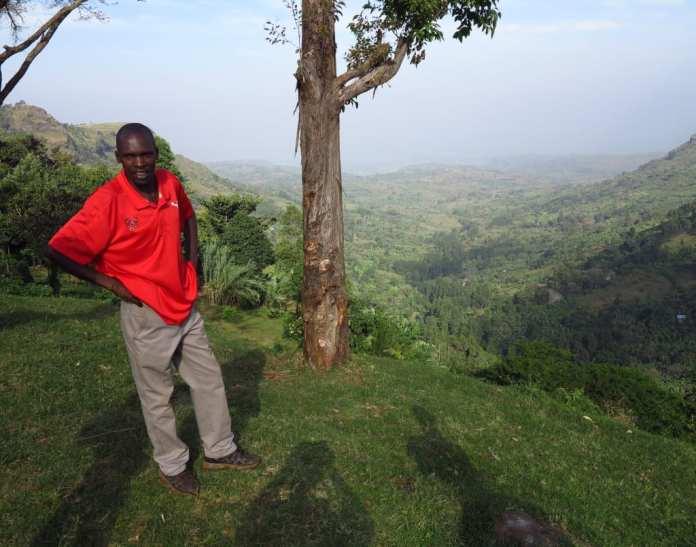 Guide in Sipi in Uganda