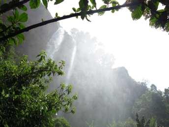 Sipi Falls in Uganda