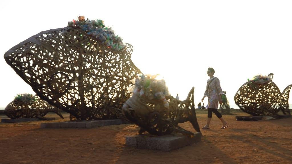 Kunstbiennale in Kochi in Kerala