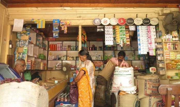 Laden in Kochi in Kerala