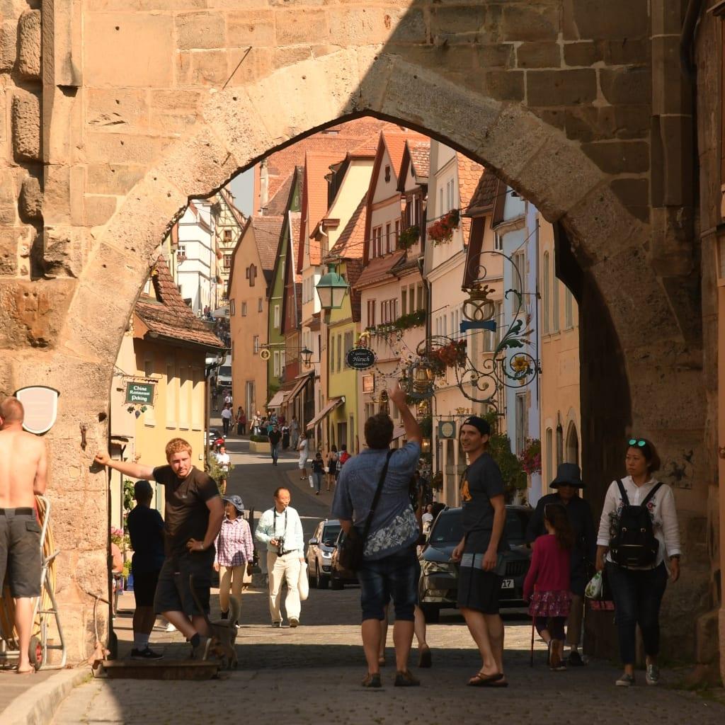 Stadttor von Rothenburg ob der Tauber