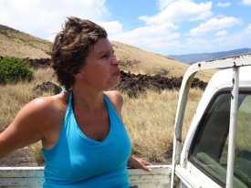 Auf dem Pick-up in Nicaragua