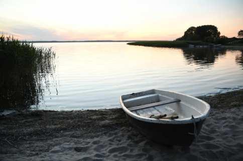 Strand von Kummersdorfer am Kummerower See