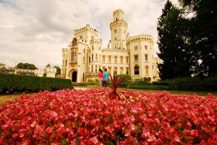 Schloss Hluboká nad Vltavou in Südböhmen