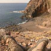 Playa del Trigo auf La Gomera