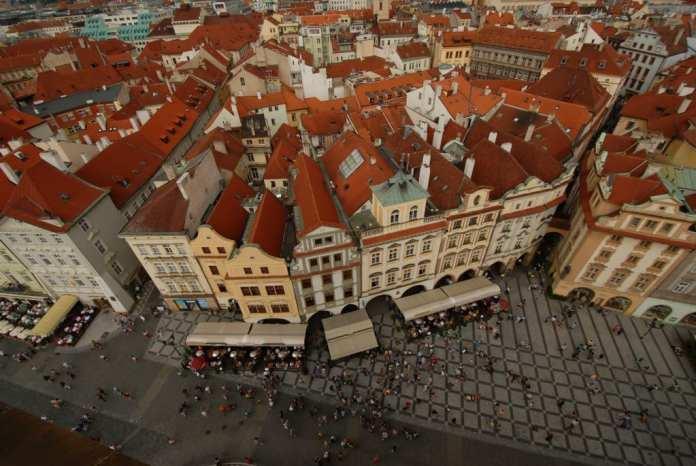 Blick vom Altstädter Ring in Prag
