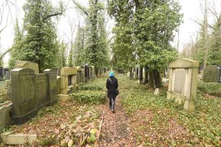Neuer jüdischer Friedhof in Prag