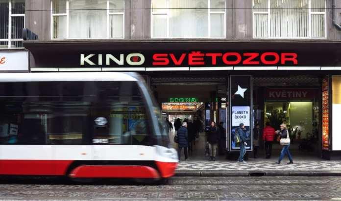 Straßenbahn in der Prager Neustadt