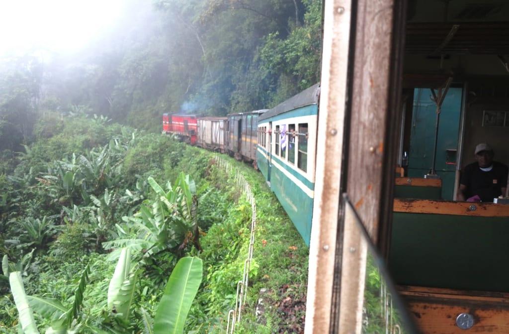 Zugfahren in Madagaskar