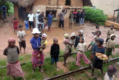 Bahnhof in Madagaskar