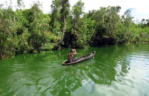 Pangalanes-Kanal in Madagaskar