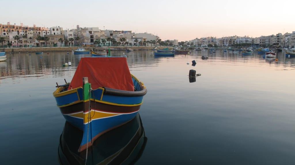 Bucht von Marsaskala in Malta