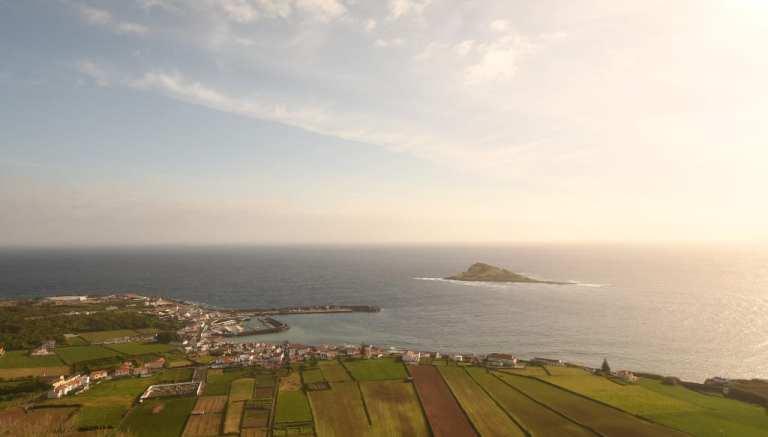 Praia auf Graciosa auf den Azoren