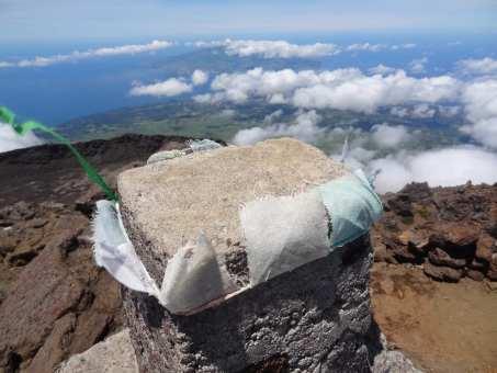 Gipfel des Pico auf den Azoren
