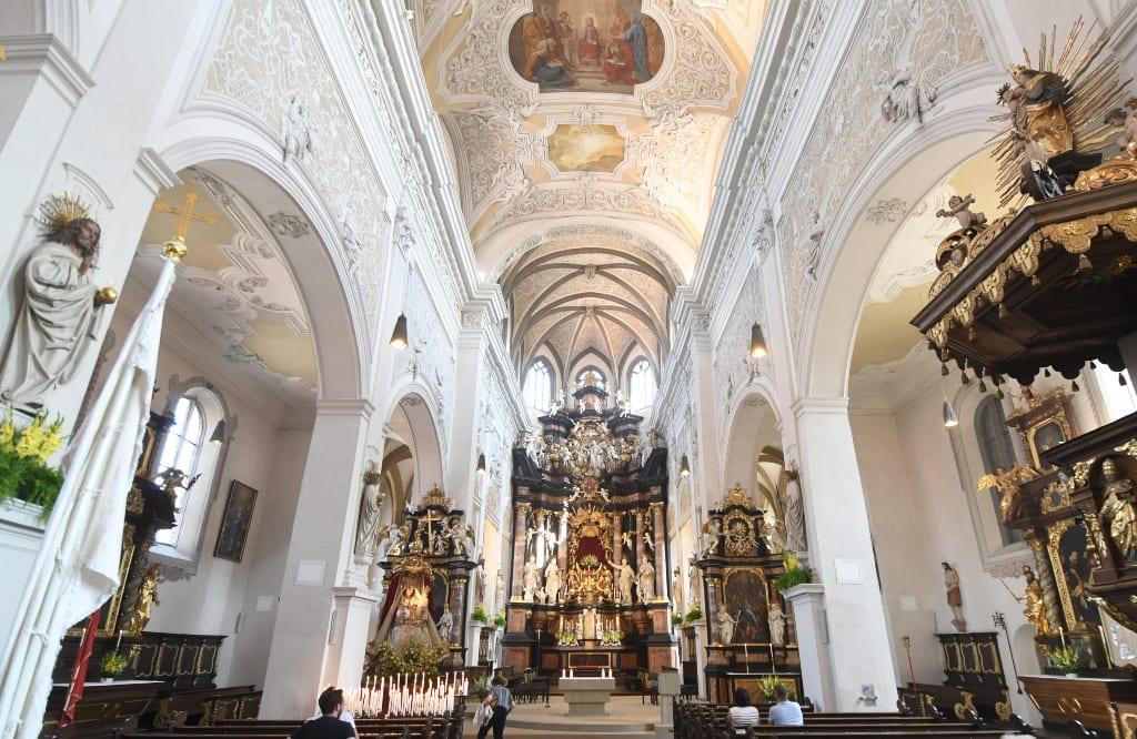 Kirche Obere Pfarre in Bamberg