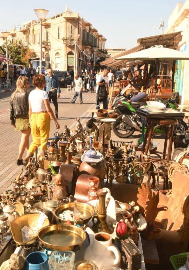 Flohmarkt in Jaffa in Tel Aviv