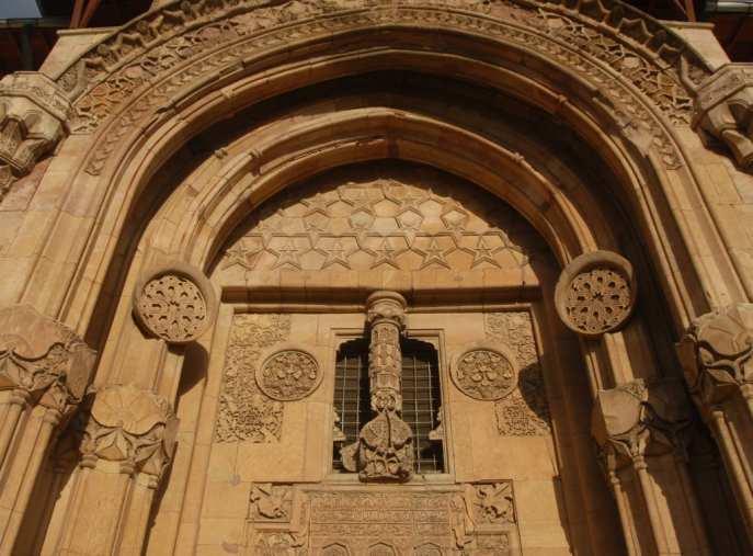 Portal der Moschee in Divrigi