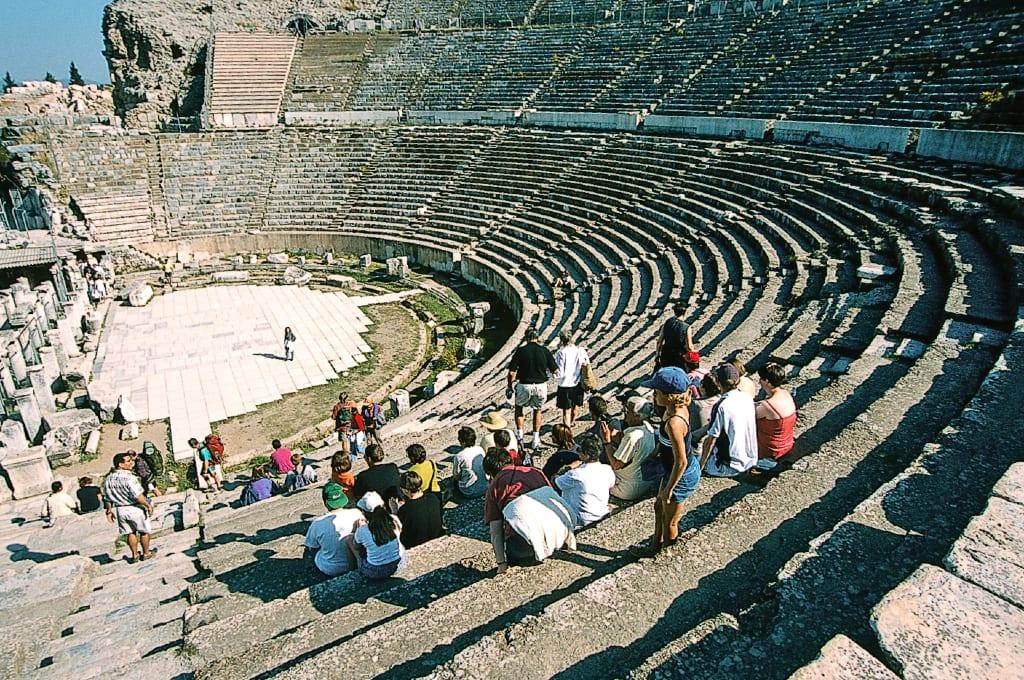 Theater von Ephesus in der Türkei