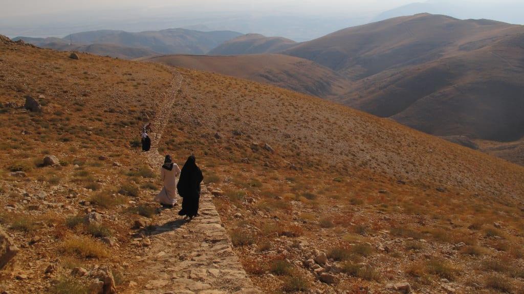 Auf dem Weg zum Berg Nemrut Dagi in Ostanatolien