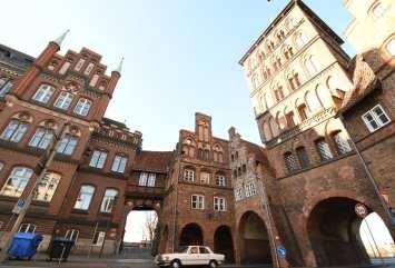 Altstadt mit Backsteinhäusern