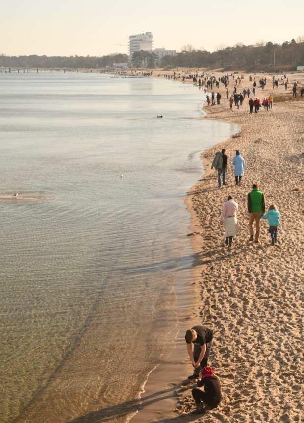Strand ohne Strandkorb