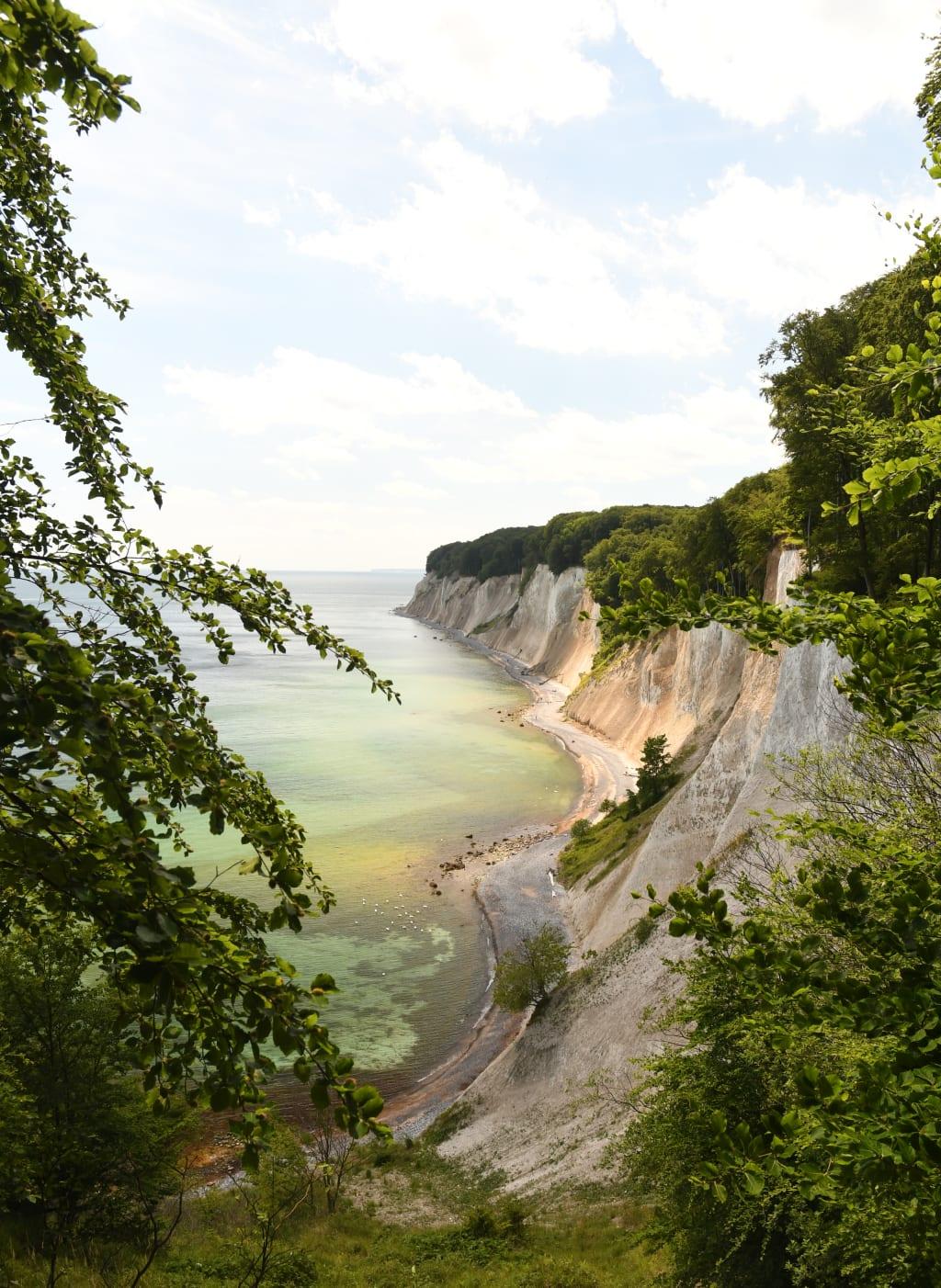 Imposante Küstenlandschaft auf Rügen