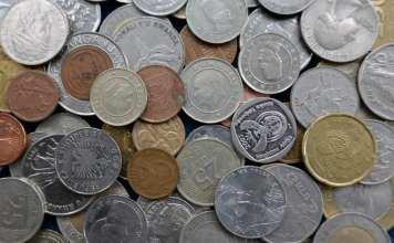 Münzen ausländischer Währungen