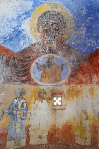 Freske einer Kirche