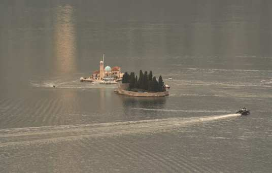 Insel im Gewässer