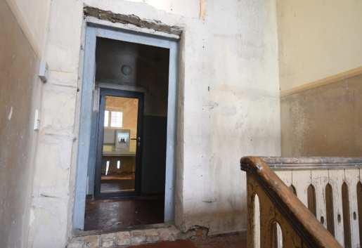 Treppenaufgang in einem Museum