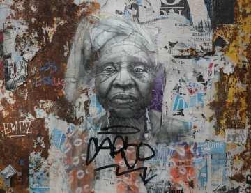 Frau Street Art